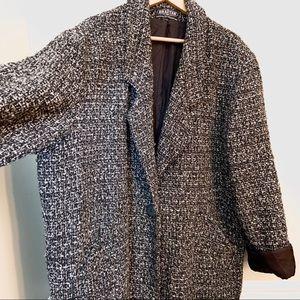 Vintage dolman sleeve tweed coat